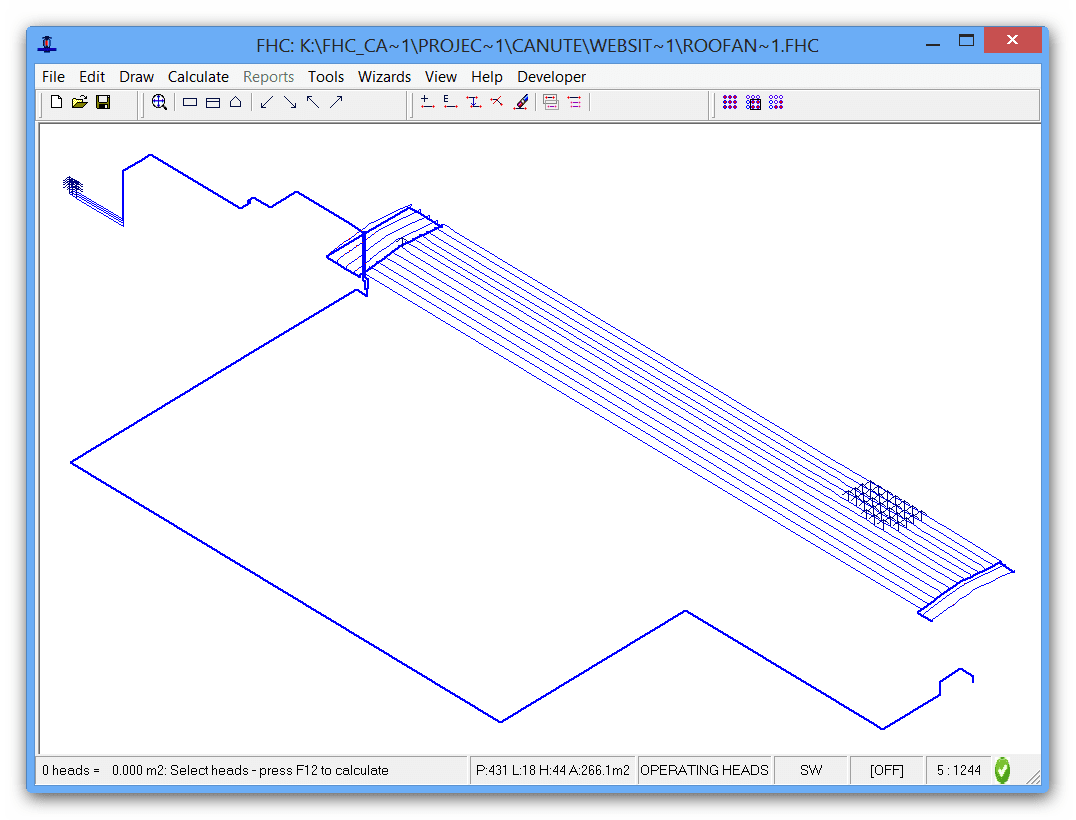 Sprinkler hydraulic calculations