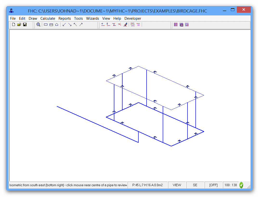FHC - Hydraulic calculation software