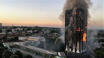 Grenfell Tower fire disaster can fire sprinkler help?