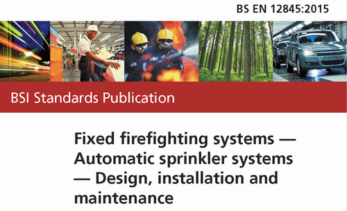 EN 12845 automatic sprinkler systems